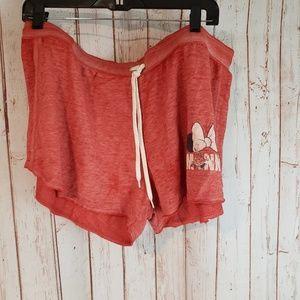 Disney Minnie Mouse Short booty shorts sz XL